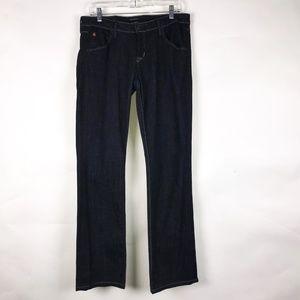 Hudson Womens Bootcut Flap Pocket Dk Wash Jeans 30